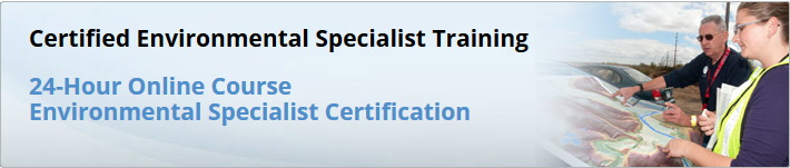Certified Environmental Specialist