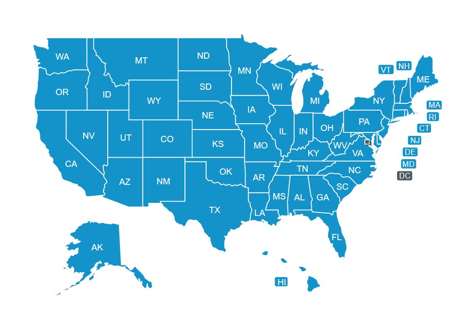 HACCP Training & Certification State Map | Food Safety HACCP